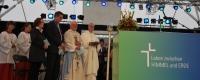 Gottesdienste im Grünen erfreuten sich bereits 2014 großer Beliebtheit. Foto: nb