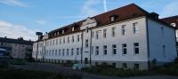 Hier beim ehemaligen Kreiswehrersatzamt entsteht ab kommende Woche ein neues Wohnquartier. Mehr hierzu in der RZ-Ausgabe von Samstag. Foto: nb