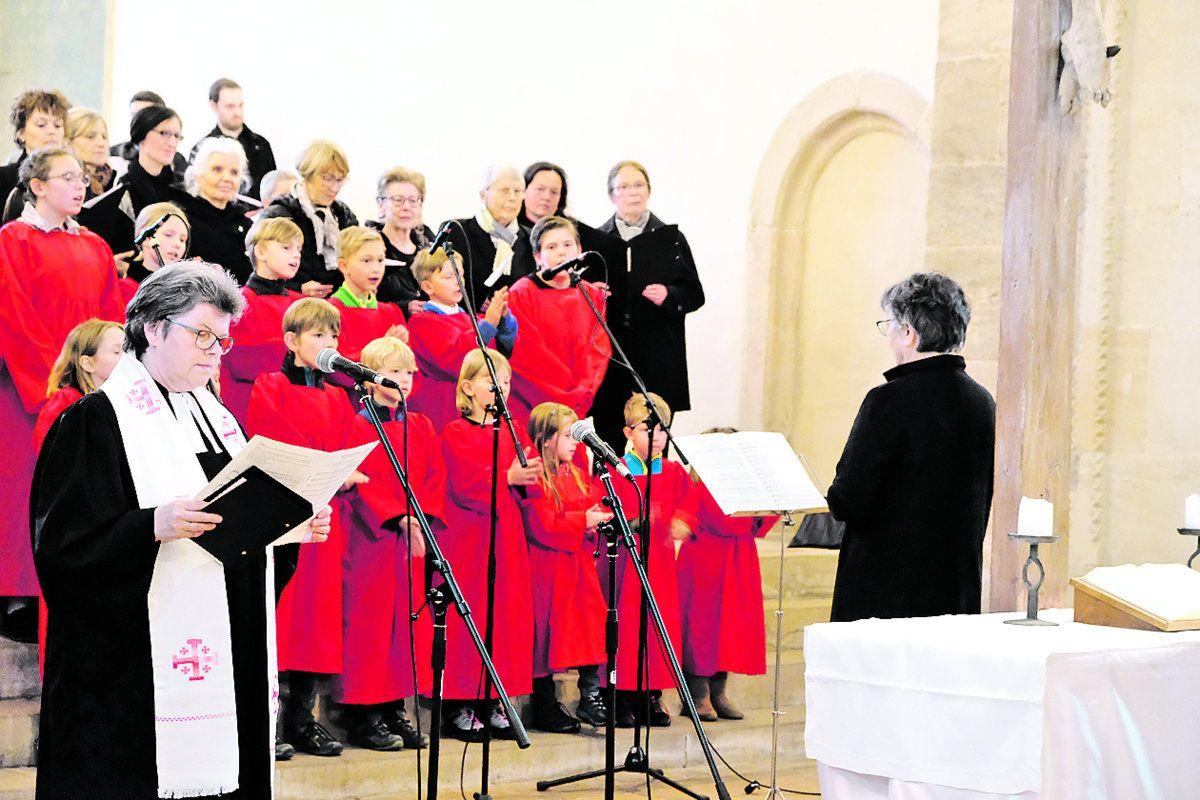 Osternachtsfeier in der Klosterkirche