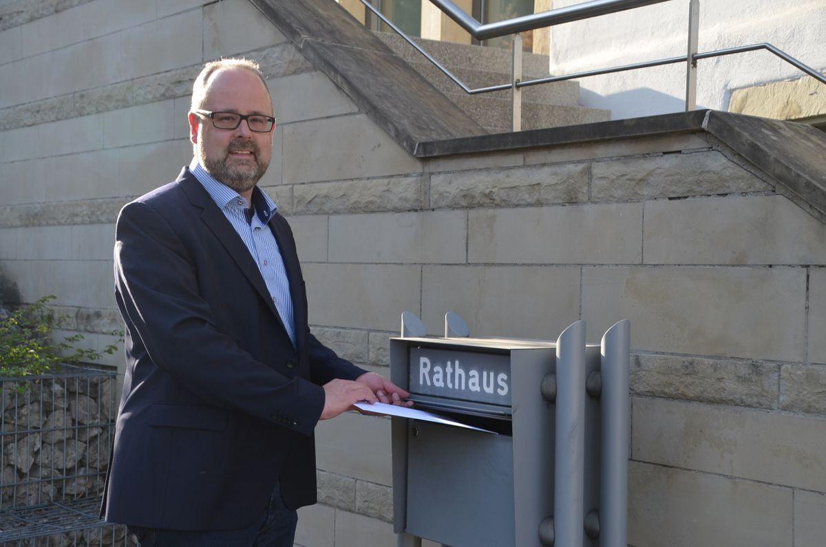 Er will Bürgermeister in Täferrot werden