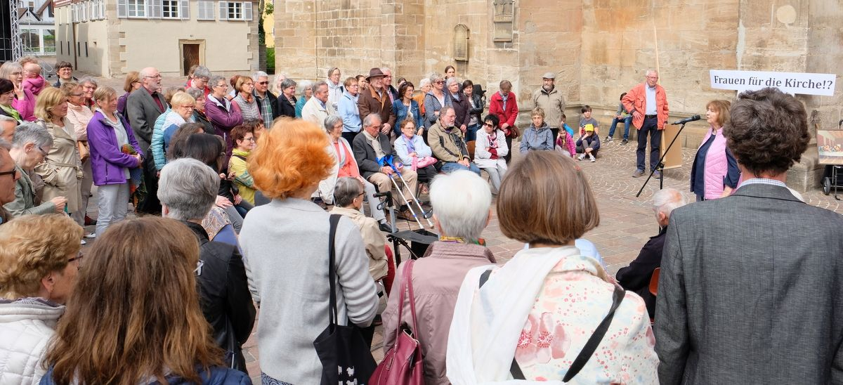 Kirchenstreik auch in Gmünd