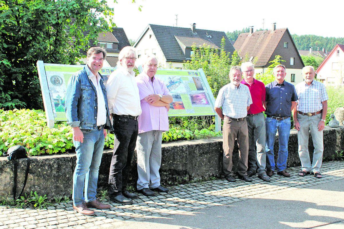 Paneelenweg in Hussenhofen eröffnet