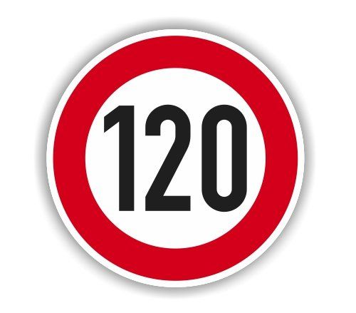Ab Freitag: 120 km/h auf der B 29