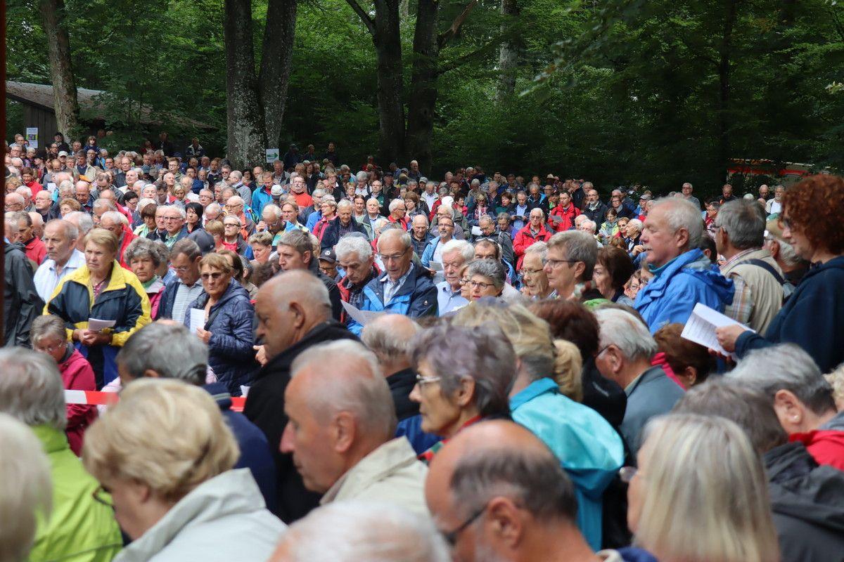 Über 2000 Gläubige kamen zur Bernharduswallfahrt