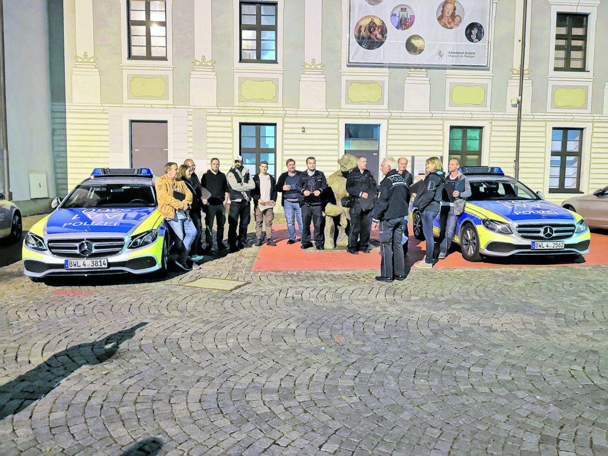 Sicherheitstag: Polizeieinsatz in mehreren Gmünder Gaststätten