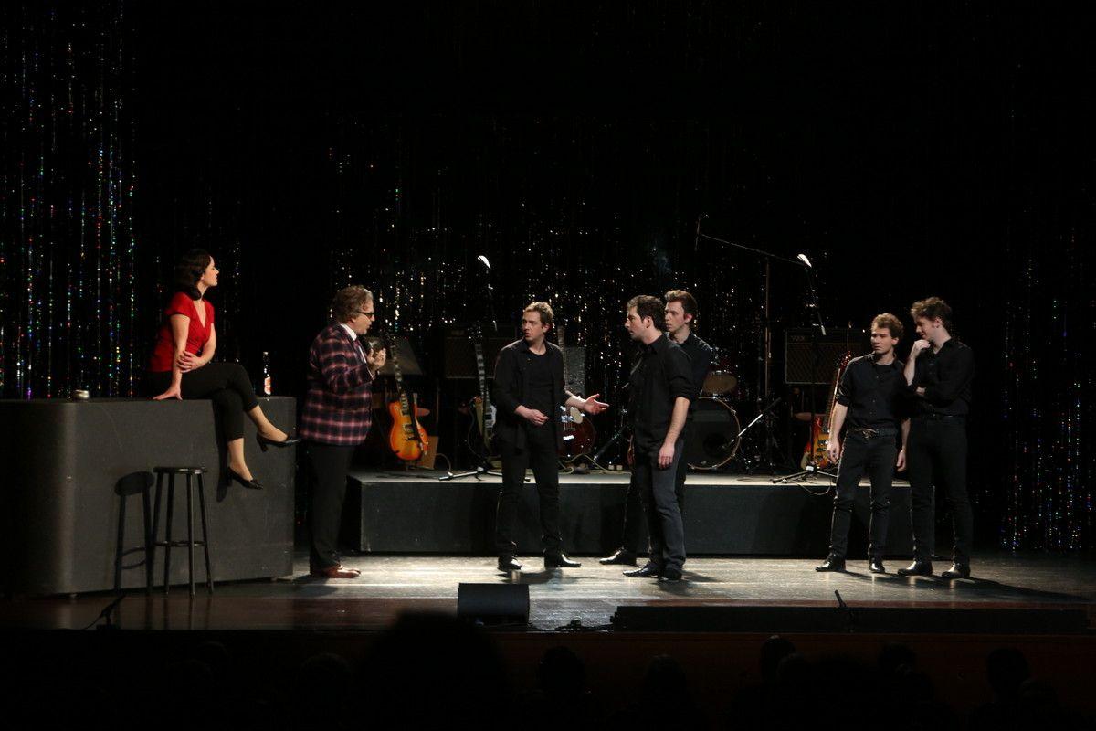 Backbeat – die Geschichte der frühen Beatle in Gmünd aufgeführt