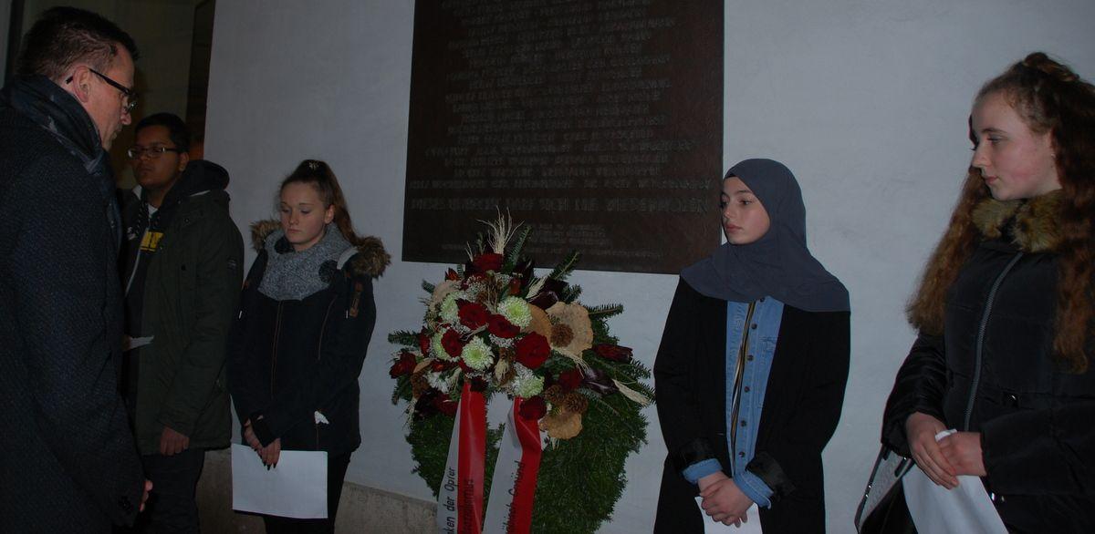In Gmünd: Tag des Gedenkens an die Opfer des Nationalsozialismus