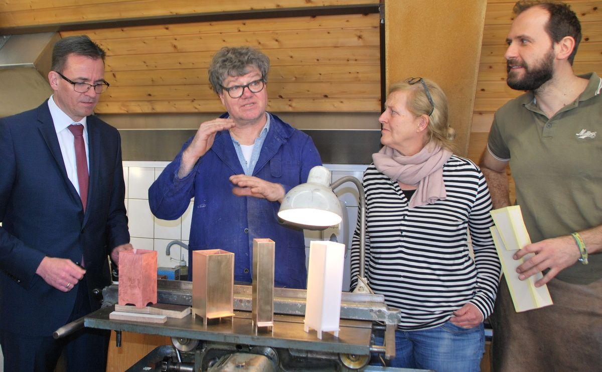 Workshop mit Stadtgoldschmied Jan Wege