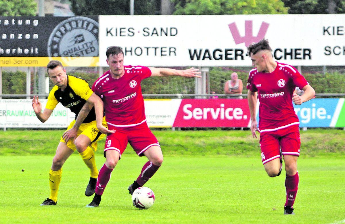 1. FC Normannia Gmünd: Wieder nur 2:2 nach 2:0-Führung
