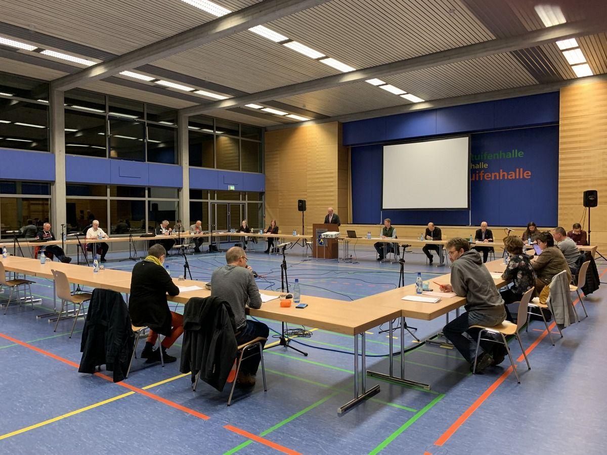 Gemeinderatssitzung in Waldstetten